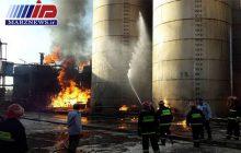 آتش سوزی در کارخانه مشتقات نفتی کرمانشاه یک کشته داشت