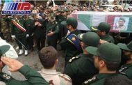 تشییع پیکر شهید مدافع حرم در اردبیل