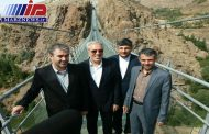 رئیس جمهور نخستین پل تمام شیشهای ایران را افتتاح می کند