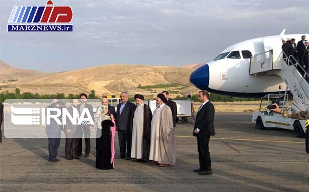رییس قوه قضاییه وارد استان کردستان شد