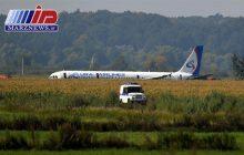 خلبانان هواپیمای فرود آمده در مزرعه ذرت قهرمان ملی روسیه شدند