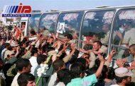 مرز خسروی قدمگاه ورود نخستین گروه از آزادگان سرافراز به آغوش وطن