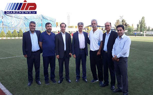 پیشکسوتان فوتبال استان اردبیل در مقابل پیشکسوتان پرسپولیس و استقلال