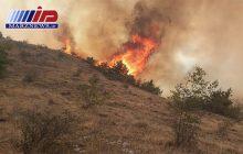 اراضی منطقه حفاظت شده ارسباران همچنان در آتش میسوزد