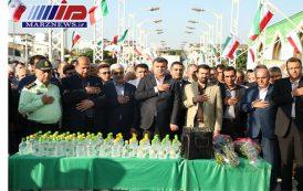 تجدید میثاق با شهدای استان در نخستین روز هفته دولت