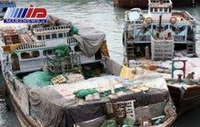 کشف دو محموله بزرگ برنج و سوخت قاچاق در هرمزگان