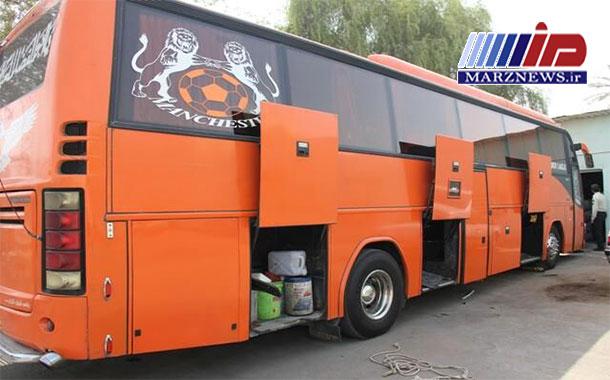 توقیف اتوبوسی با ۷۰۰ میلیون ریال کالای قاچاق در ماکو