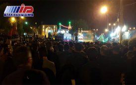 پرچم عزای حسینی در شوشتر برافراشته شد