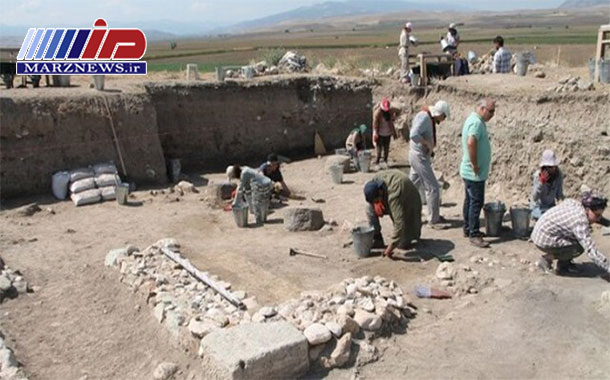 کشف بقایای پستخانه ایرانی ۲۵۰۰ ساله در ترکیه +عکس