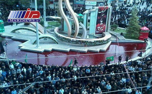 عزاداران حسینی ایلام در میدان ۲۲ بهمن تجمع می کنند