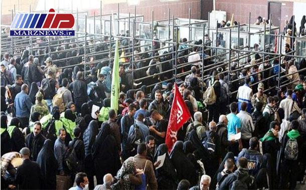 یک میلیون و ۷۰۰ هزار نفر از مرز مهران تردد کردند