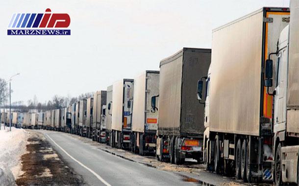 افزایش ۷ درصدی ترازیت کالا از مرز بازرگان آذربایجانغربی
