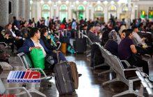 زائران حوزه قفقاز از مرز «بیله سوار» عازم مراسم اربعین می شوند