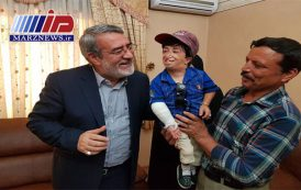 دیدار صمیمانه کوتاه قامتترین مرد ایران با وزیر کشور در مشهد
