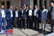 فعالان اقتصادی ارزروم ترکیه وارد منطقه آزاد ماکو شدند