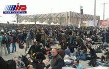 افزایش تردد زائرین در شبانه روز گذشته از مرز مهران