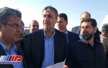 وزیر راه و شهرسازی از مرز شلمچه بازدید کرد