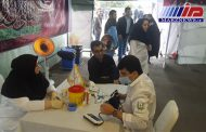 خدمات رسانی موکب بیمارستان بانک ملی ایران به زائران امام رضا(ع)