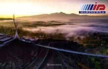 اولین پل معلق شیشه ای جهان در هیر