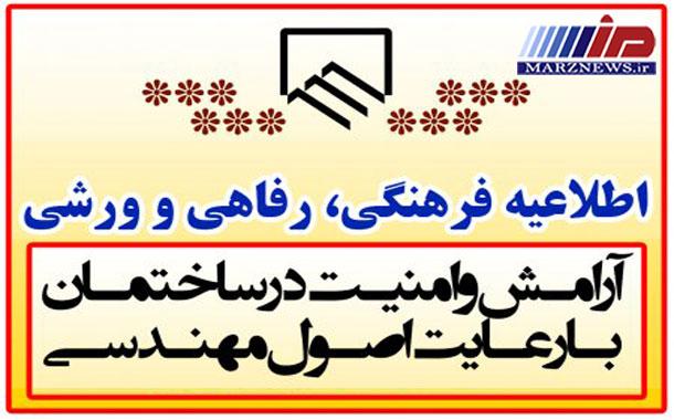 هشتمین دوره مسابقات اعضای سازمان نظام مهندسی ساختمان استان اردبیل
