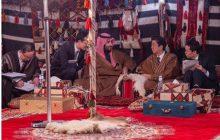 سورپرایز ولیعهد عربستان برای نخست وزیر ژاپن + تصاویر