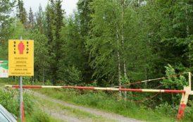 گذرگاه ساختگی در مرز روسیه با فنلاند برای فریب مهاجران