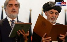اشرف غنی و عبدالله به عنوان رییسان جمهوری افغانستان سوگند خوردند