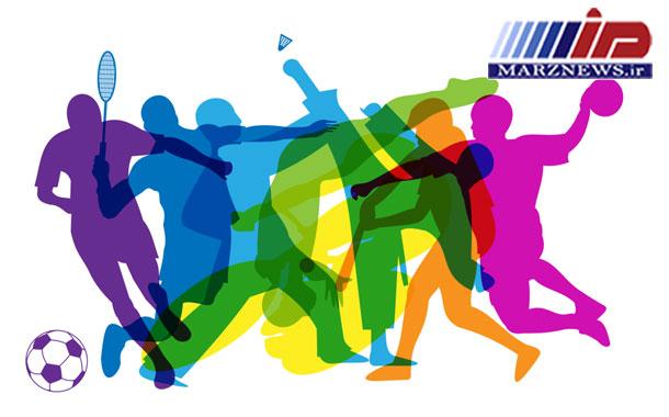 حضور ورزشکاران تیم ملی در مسابقات برون مرزی