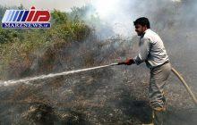 آتشسوزی جنگل خسرج مهار شد