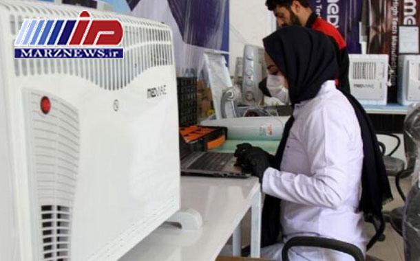 مهندس ایرانی دستگاهی برای ضدعفونی کردن هوا تولید کرد