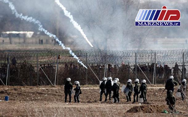 تیراندازی مرزبانان ترکیه به سوی نیروهای آلمانی مستقر در مرز ترکیه-یونان