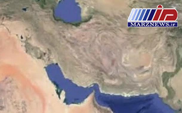 جغرافیای مرزهای ایران