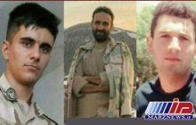 شهادت 3 مرزبان در درگیری با اشرار در مرز سردشت