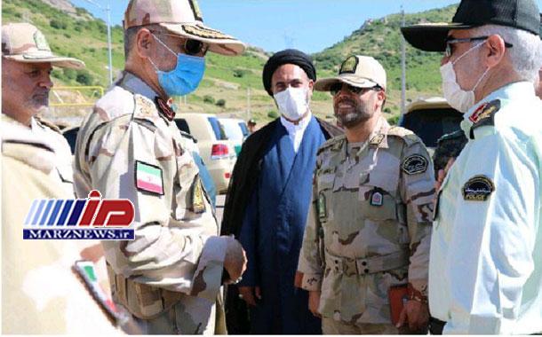 سفر فرمانده مرزبانی ناجا به استان اردبیل و بازدید از مرز زمینی آستارا