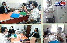 بازدید مدیرکل امور اجتماعی استانداری از دفتر انجمن ام اس استان اردبیل