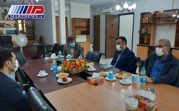 نشست روسای  پارک علم و فناوری البرز، بنیاد نخبگان و جهاد دانشگاهی استان البرز
