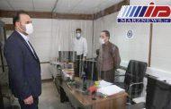 بازدید مديرعامل منطقه ويژه اقتصادی و فرودگاه بين المللی پيام از نحوه رعایت پروتكل های بهداشتی