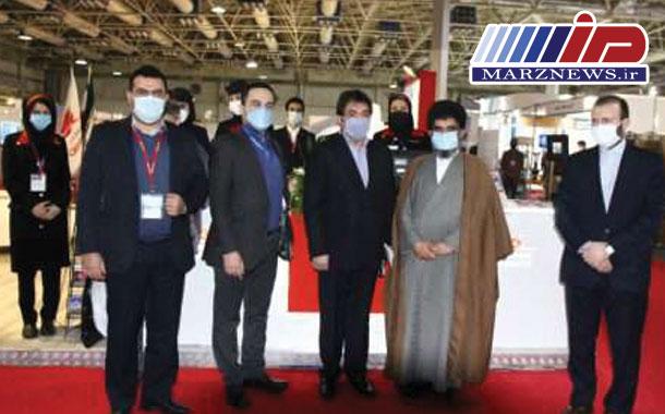 بازدید عضو هیات رئیسه مجلس شورای اسلامی و رئیس فراکسیون کارآفرینان از غرفه هواپیمایی قشم
