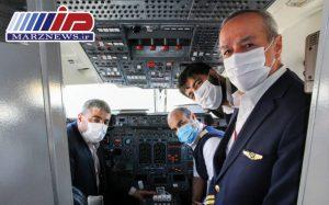گزارش تصویری بازدید نوروزی کاپیتان حسن قاسمی رئیس هیات مدیره و مدیرعامل شرکت هواپیمایی قشم از واحدهای عملیاتی قشم ایر در فرودگاه مهرآباد
