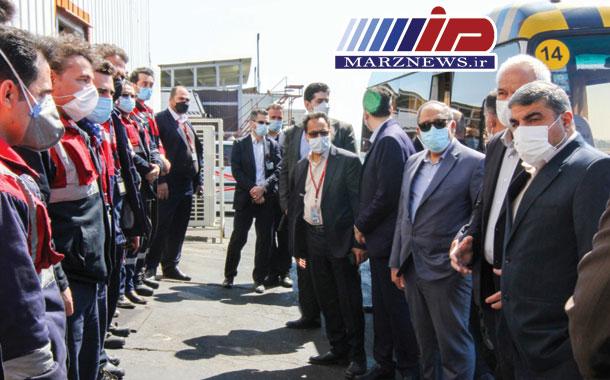 بازدید نوروزی رئیس هیات مدیره و مدیرعامل شرکت هواپیمایی قشم