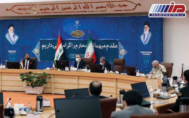 دیدار مشاور عالی وزیر کشور عراق با معاون امنیتی و انتظامی وزیر کشور ایران