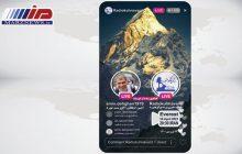 پرچم ایران در مسیر قله اورست به اهتزاز در آمد