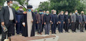 گزارش تصویری مراسم تشیع پیکر زنده یاد حاج محمدرضا دیده بان