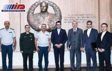 دیدار سفیر ایران با فرمانده مرزبانی و وزیر حمل ونقل جمهوری آذربایجان