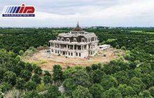 کاخی لوکس در شمال؛ برای ساختن این عمارت ۳۲۰۰۰ متر شالیزار را خشکاندهاند!