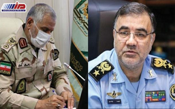 پیام تبریک سردار گودرزی بمناسبت انتصاب فرمانده نیروی هوایی ارتش جمهوری اسلامی ایران