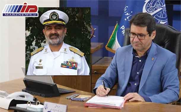 پیام تبریک مدیرعامل سازمان بنادر برای بازگشت مقتدرانه هفتاد وپنجمین ناوگروه نیروی دریایی ارتش