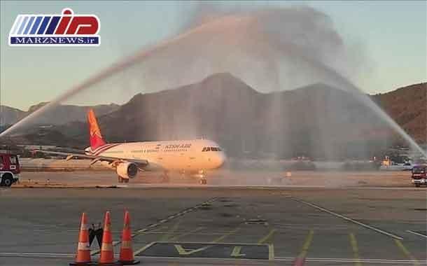 نخستین پرواز شرکت هواپیمایی کیشایر ایران به آلانیا انجام شد