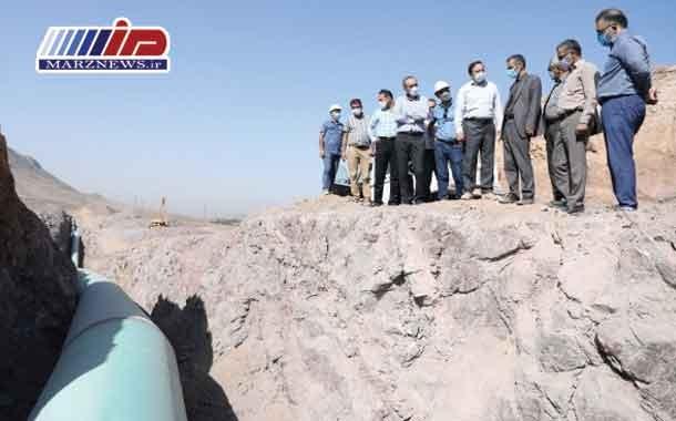 اقدام جهادی شرکت آب منطقه ای قزوین جهت تکمیل پروژه آبرسانی به شهرستان آبیک