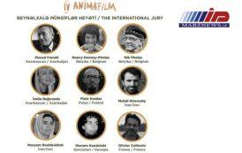 داوری هنرمندان اردبیلی در جشنواره بینالمللی انیمیشن باکو